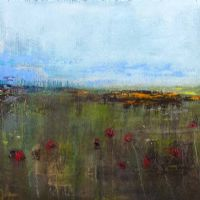 RED POPPIES DANCE by Colin Flack at Ross's Auctions
