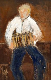 SQUEEZE BOX PLAYER by Harry C.  Reid HRUA at Ross's Auctions