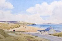 PORTSTEWART STRAND by Garth Giffin at Ross's Auctions