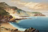 VIEW OF THE BAY by Roland Stead at Ross's Auctions