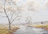 ALONG THE BANN by Charles Steede at Ross's Auctions