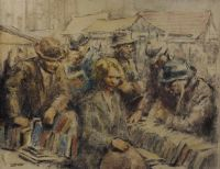 Lot 322 by William Conor RHA RUA at Ross's Auctions