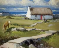 Lot 78 by Cecil Maguire RUA at Ross's Auctions