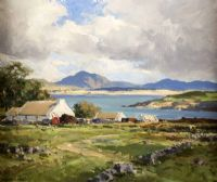 Lot 83 by Maurice Canning  Wilks ARHA RUA at Ross's Auctions