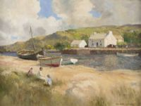 Lot 129 by Maurice Canning  Wilks ARHA RUA at Ross's Auctions