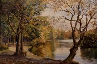REFLECTIONS ON THE LAGAN by Allan Ardies at Ross's Auctions