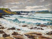 SEASCAPE by Patric Stevenson PPRUA at Ross's Auctions