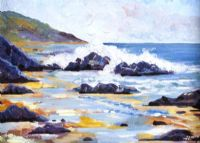 THE ANTRIM COAST by Graham Easthope at Ross's Auctions