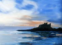 BAMBURGH CASTLE by Graham Easthope at Ross's Auctions