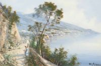 THE ITALIAN COAST by M. Gianni at Ross's Auctions