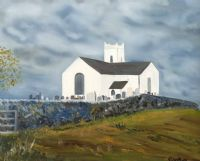 BALLINTOY CHURCH by Graham Easthope at Ross's Auctions
