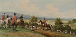 THE HUNT by R. Allen at Ross's Auctions