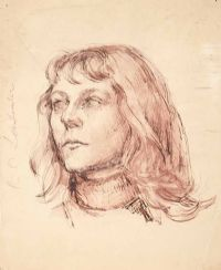 PORTRAIT OF A GIRL by R. Lenkiewicz at Ross's Auctions