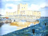 CARRICKFERGUS CASTLE by Graham Easthope at Ross's Auctions