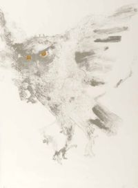 EAGLE OWL by Dame Elisabeth Frink RA at Ross's Auctions