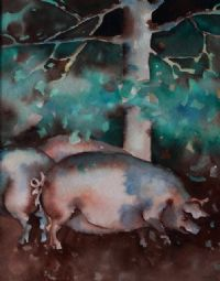 PIGS by J. Luke at Ross's Auctions