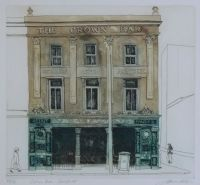 THE CROWN BAR, BELFAST by James Allen RUA at Ross's Auctions