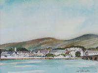 VILLAGE & BRIDGE by G. Stampton at Ross's Auctions