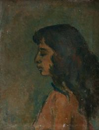 SELF PORTRAIT by Stella Steyn at Ross's Auctions