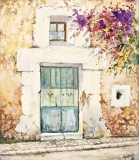 SPANISH VILLA by S. Jours at Ross's Auctions