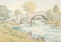THE OLD BRIDGE by Louis Affolter at Ross's Auctions
