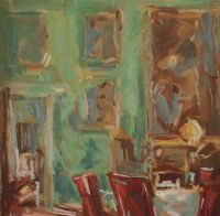 THE DINING ROOM, CLANDEBOYE by Lindy Guinness at Ross's Auctions