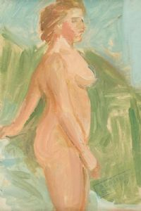 FEMALE NUDE STUDY by Stella Steyn at Ross's Auctions