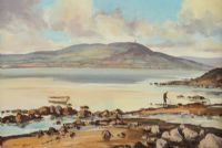 ACROSS STRANGFORD LOUGH by Nigel Allison at Ross's Auctions