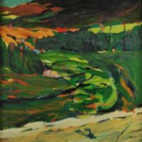 THE VALLEY OF THE RIVER OW by Robert Armstrong at Ross's Auctions