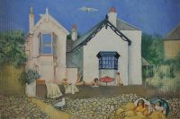 LAZY SUMMER DAYS by Margaret Gowan at Ross's Auctions