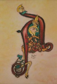 THE BOOK OF KELLS by Yvonne Fisher at Ross's Auctions