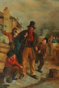 SHOE SHINER by English School at Ross's Auctions