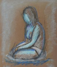 SEATED NUDE by Michael Gemmell at Ross's Auctions