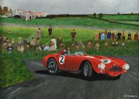 FANGIO AT DUNDROD by Stephen Anderson at Ross's Auctions