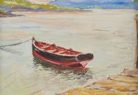 FISHING BOAT, DUNFANAGHY by Frank Forty at Ross's Auctions