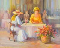 TEA FOR TWO by J. Sergei at Ross's Auctions