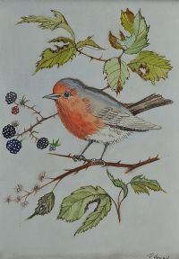 RED ROBIN by Patricia Henry at Ross's Auctions
