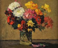 STILL LIFE by Frederick William Hull RUA at Ross's Auctions