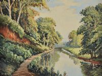ON THE LAGAN by William Henry  Burns at Ross's Auctions