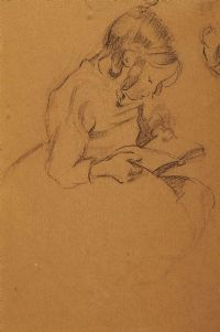 GIRL READING by Mabel Allington Royds at Ross's Auctions