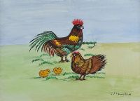EASTER CHICKS by Patricia Henry at Ross's Auctions
