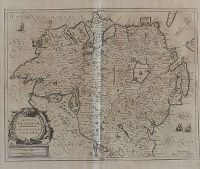 ULSTER (17th CENTURY MAP) by Janssen at Ross's Auctions