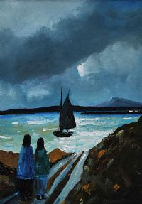 DOWNINGS MOONLIGHT by Eileen Gallagher at Ross's Auctions