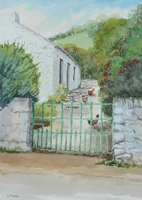GLENAAN COTTAGE by Susan Forth at Ross's Auctions
