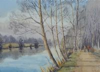 THE RIVER BANN AT PORTGLENONE by Susan Forth at Ross's Auctions