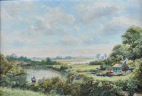 THE COMBER RIVER by Allan Ardies at Ross's Auctions