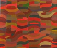 COLOUR MOVEMENT, RED by Gary Shaw at Ross's Auctions