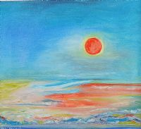 SETTING SUN by Ebie Francis at Ross's Auctions
