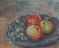 APPLES & GRAPES by Stella Steyn at Ross's Auctions