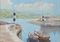 CARNLOUGH HARBOUR by Susan Forth at Ross's Auctions